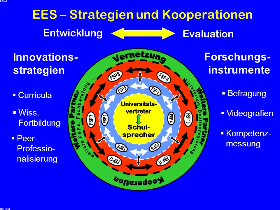 EES – Strategien und Kooperationen