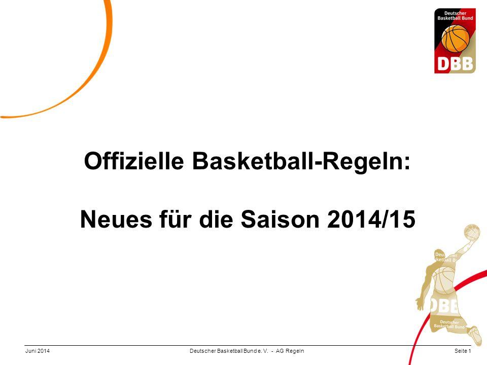 Offizielle Basketball-Regeln:
