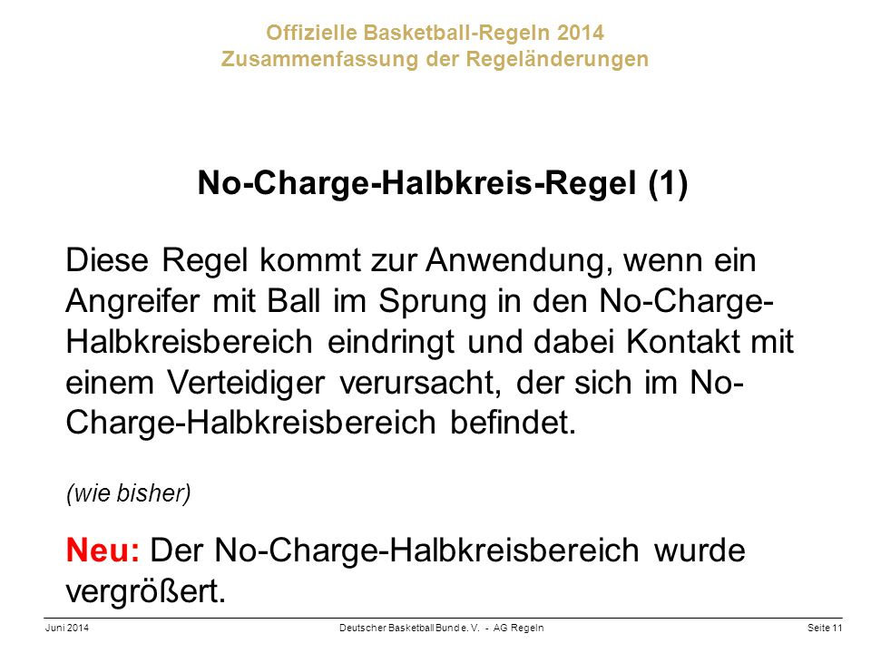 No-Charge-Halbkreis-Regel (1)
