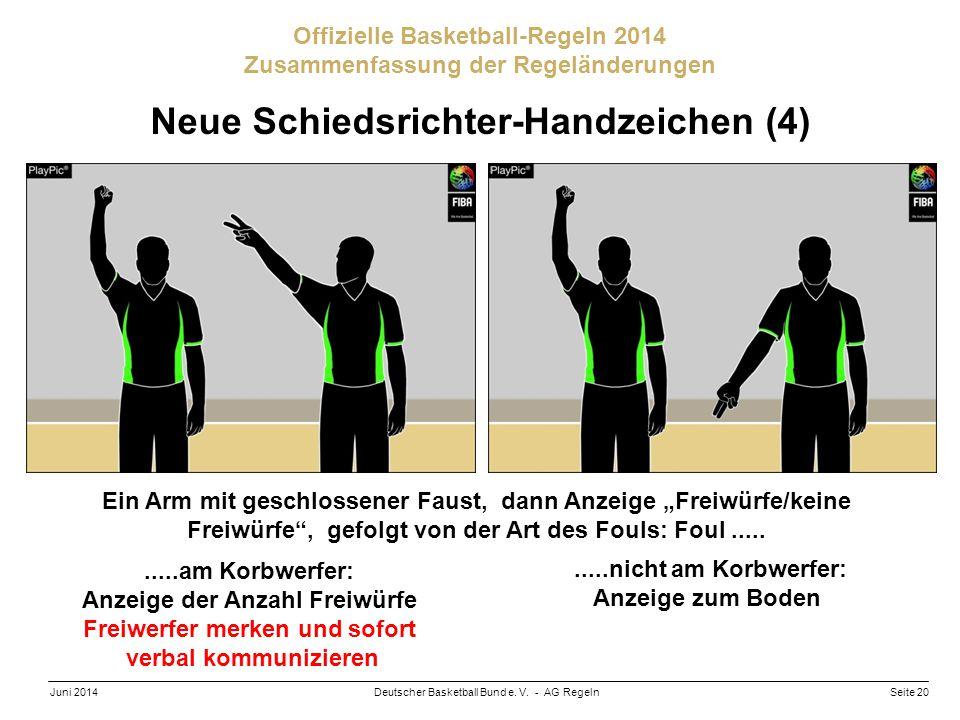 Neue Schiedsrichter-Handzeichen (4)