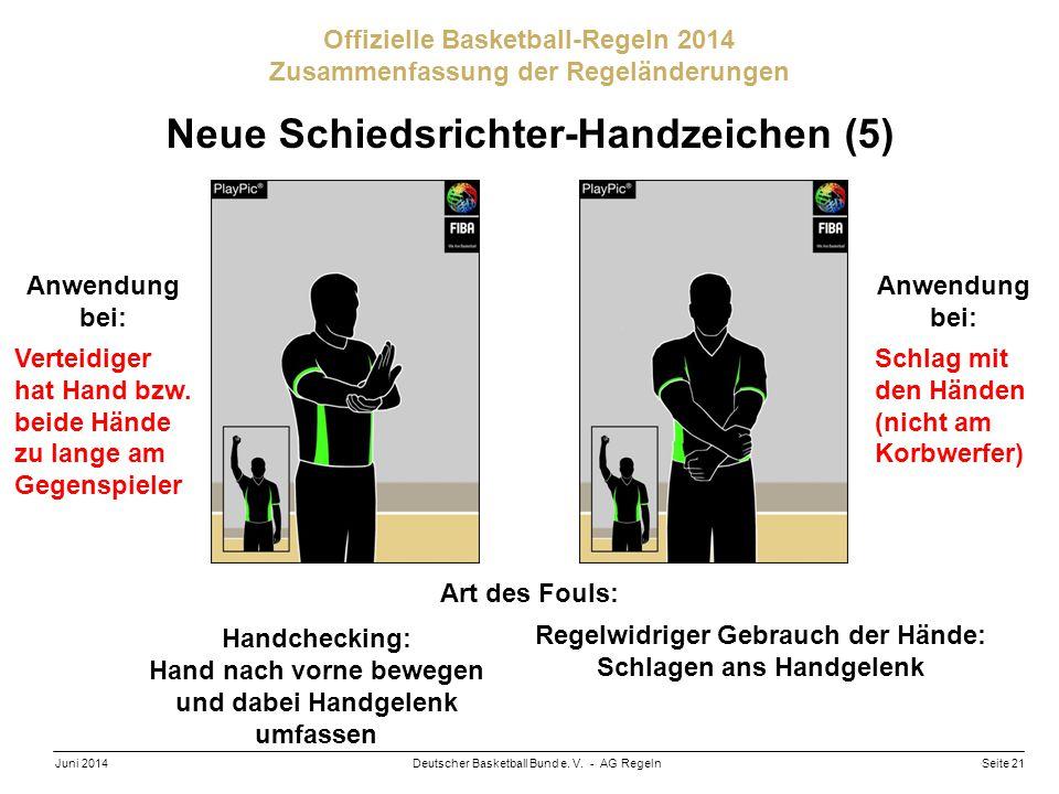 Neue Schiedsrichter-Handzeichen (5)