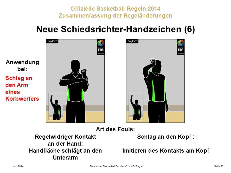 Neue Schiedsrichter-Handzeichen (6)