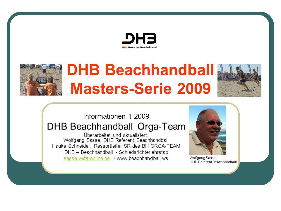 DHB Beachhandball Masters-Serie 2009