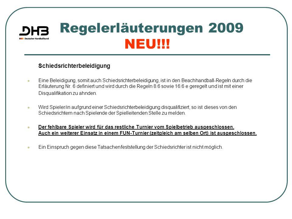 Regelerläuterungen 2009 NEU!!!