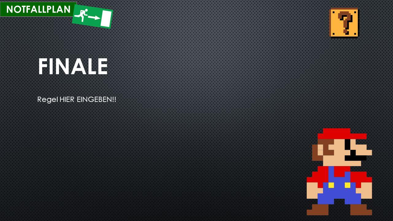 NOTFALLPLAN FINALE Regel HIER EINGEBEN!!