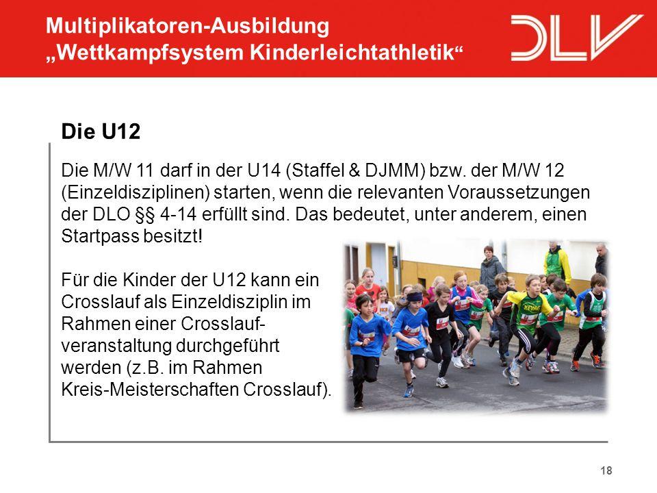 "Multiplikatoren-Ausbildung ""Wettkampfsystem Kinderleichtathletik"