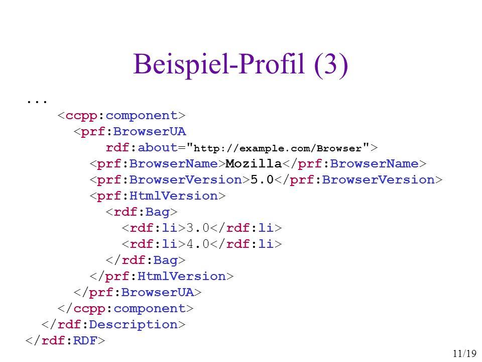 Beispiel-Profil (3) ... <ccpp:component>