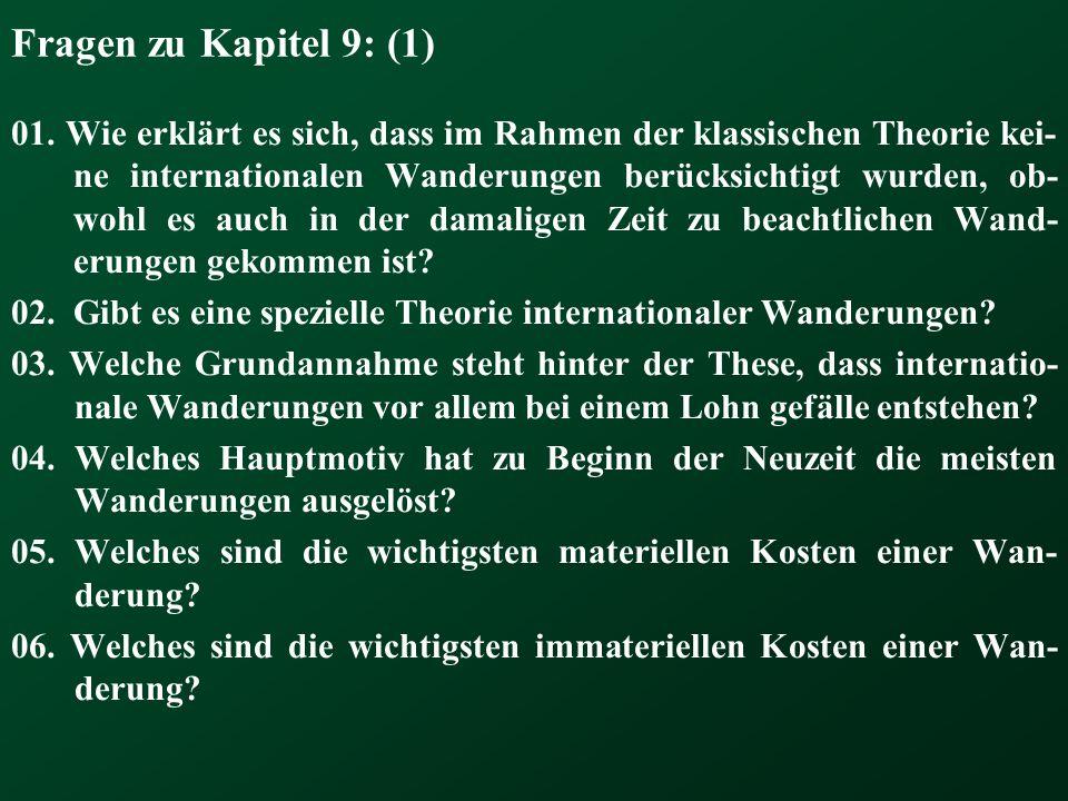 Fragen zu Kapitel 9: (1)