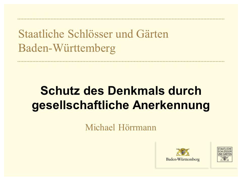 Staatliche Schlösser und Gärten Baden-Württemberg