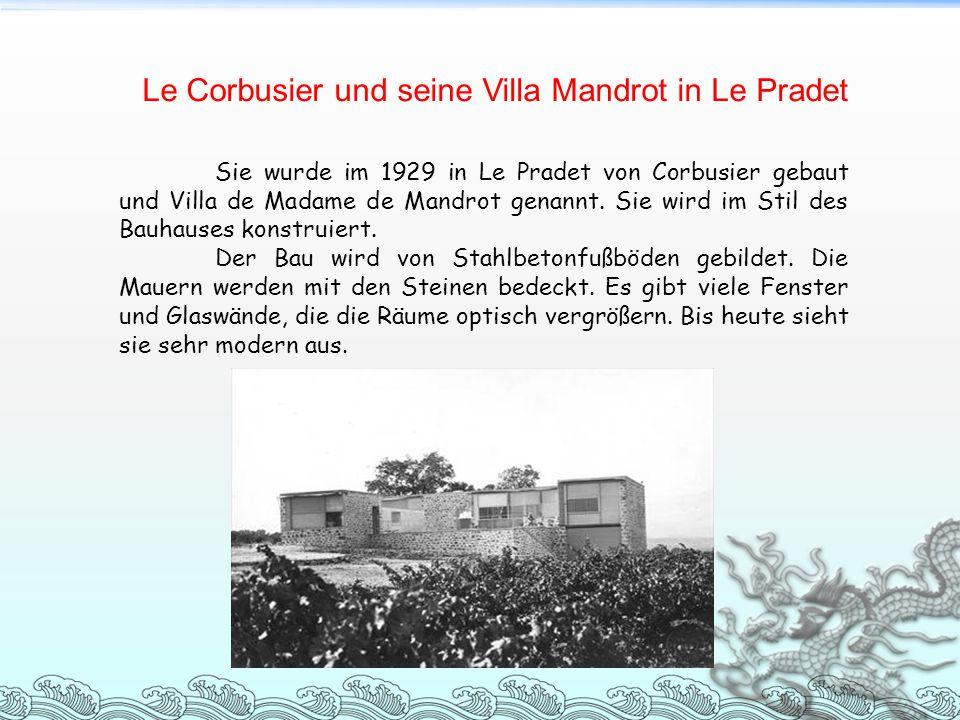 Le Corbusier und seine Villa Mandrot in Le Pradet