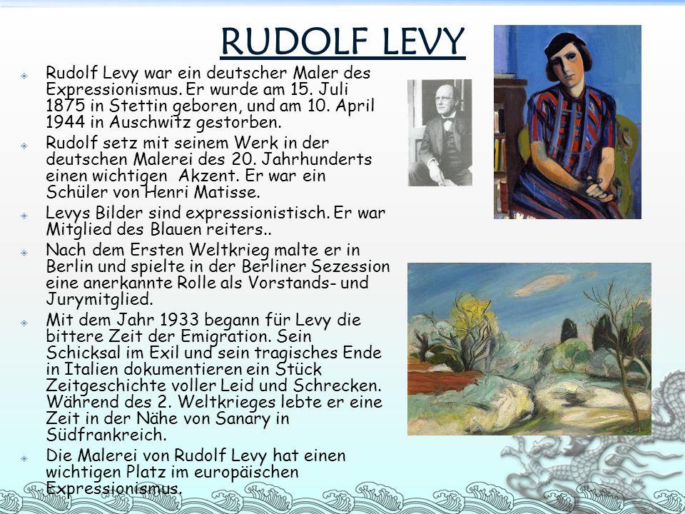 RUDOLF LEVY