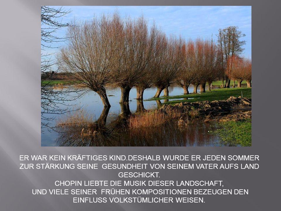 CHOPIN LIEBTE DIE MUSIK DIESER LANDSCHAFT,