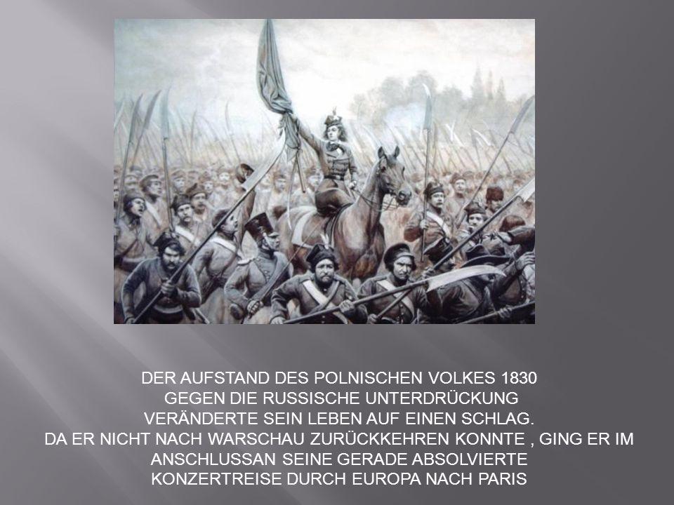 DER AUFSTAND DES POLNISCHEN VOLKES 1830