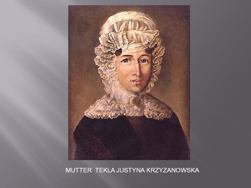 MUTTER TEKLA JUSTYNA KRZYZANOWSKA