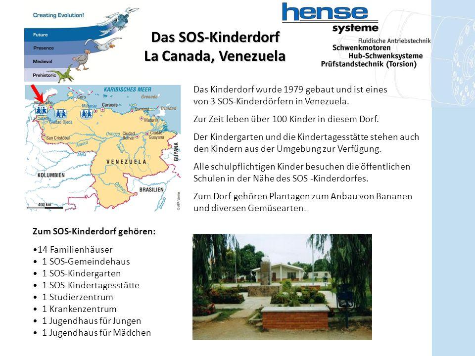 Das SOS-Kinderdorf La Canada, Venezuela