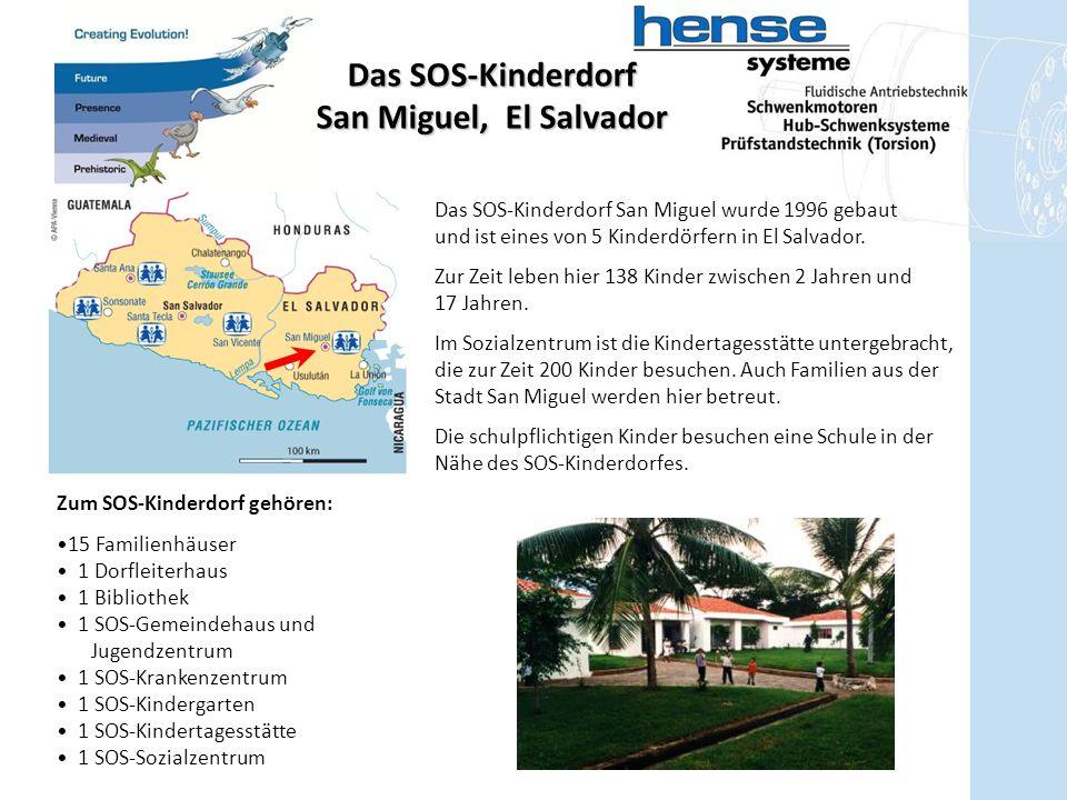 Das SOS-Kinderdorf San Miguel, El Salvador