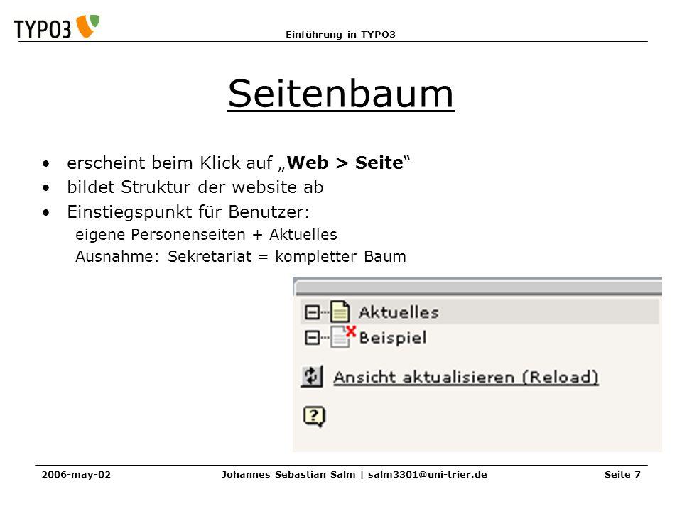 Johannes Sebastian Salm | salm3301@uni-trier.de
