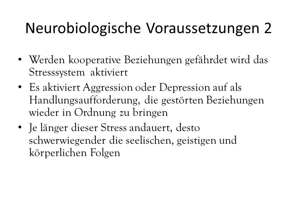 Neurobiologische Voraussetzungen 2