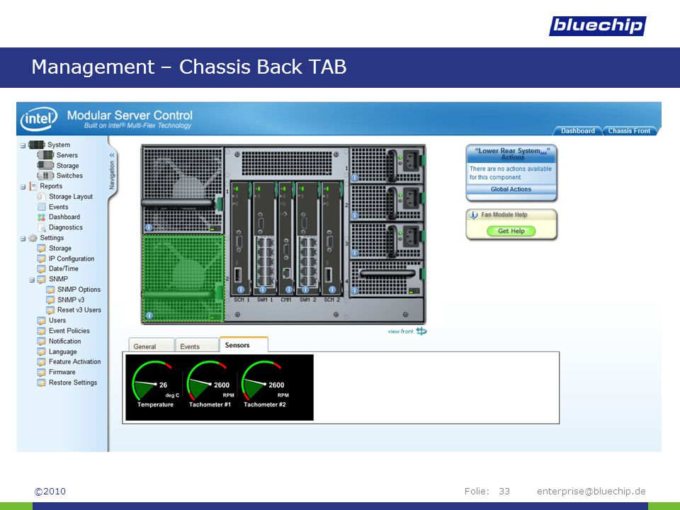 Management – Chassis Back TAB