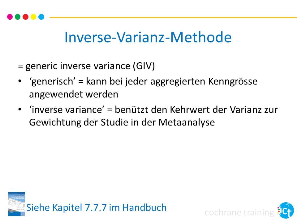 Inverse-Varianz-Methode