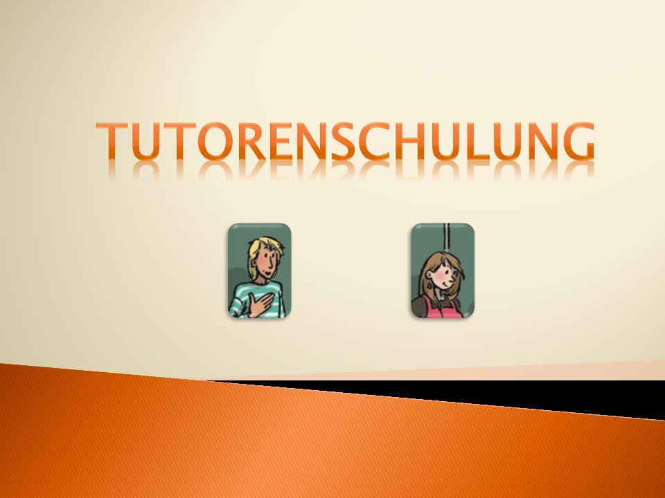TUTORENSCHULUNG