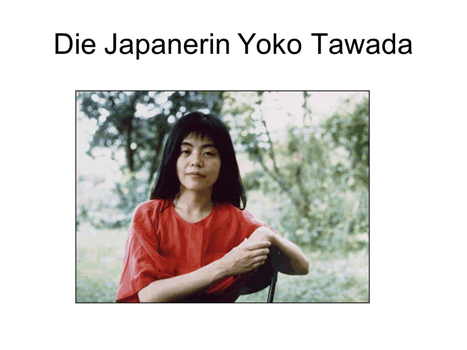 Die Japanerin Yoko Tawada