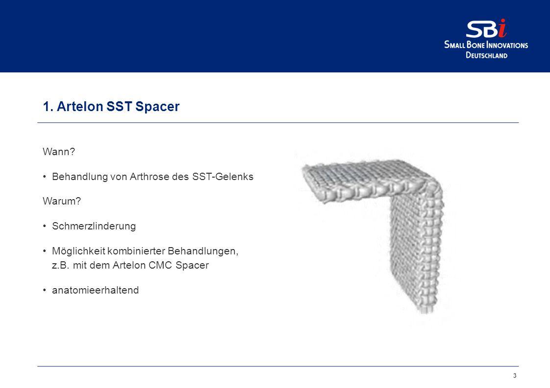 Artelon ® STT und DRU Spacer