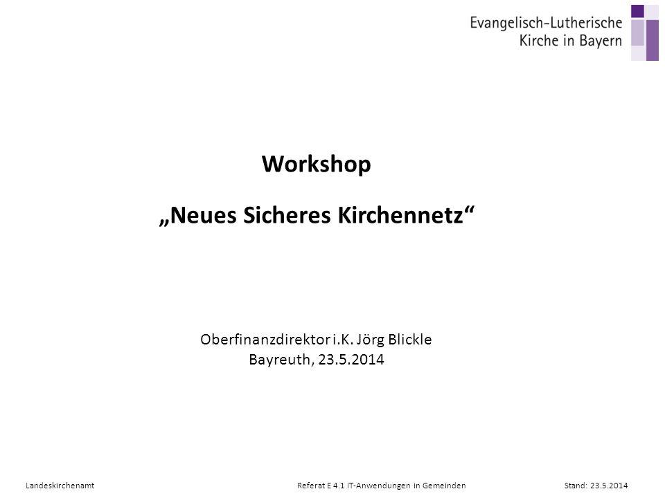 """""""Neues Sicheres Kirchennetz"""