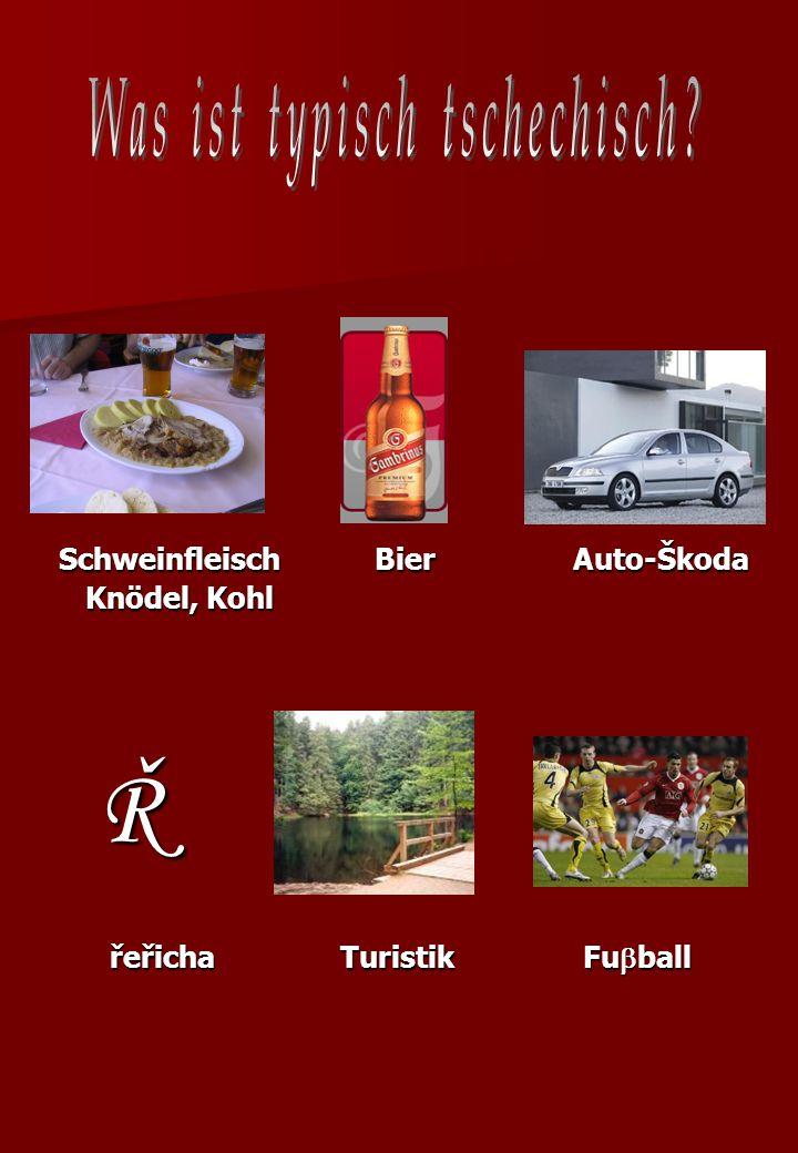 Schweinfleisch Bier Auto-Škoda řeřicha Turistik Fuball