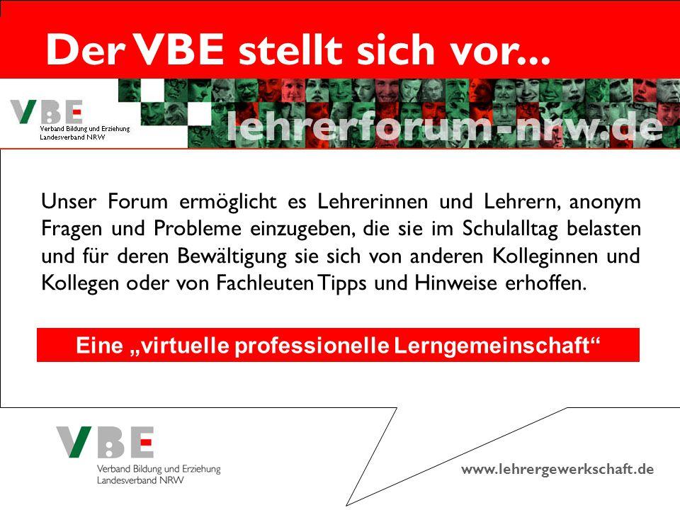 """Eine """"virtuelle professionelle Lerngemeinschaft"""