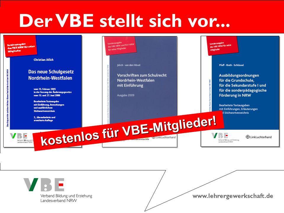 kostenlos für VBE-Mitglieder!