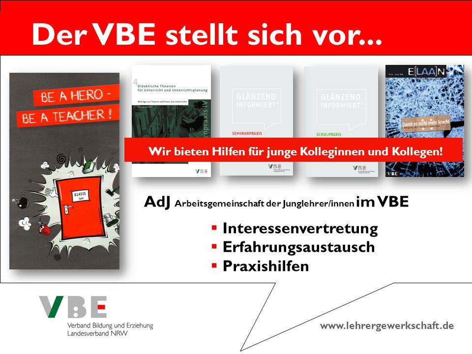 AdJ Arbeitsgemeinschaft der Junglehrer/innen im VBE