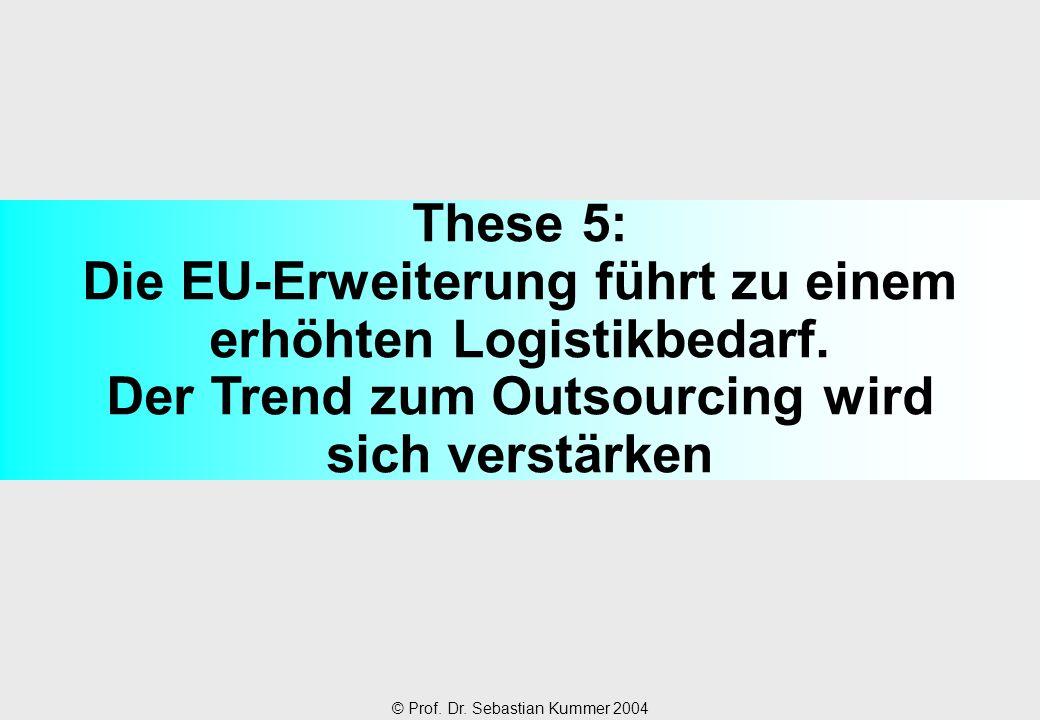 These 5: Die EU-Erweiterung führt zu einem erhöhten Logistikbedarf