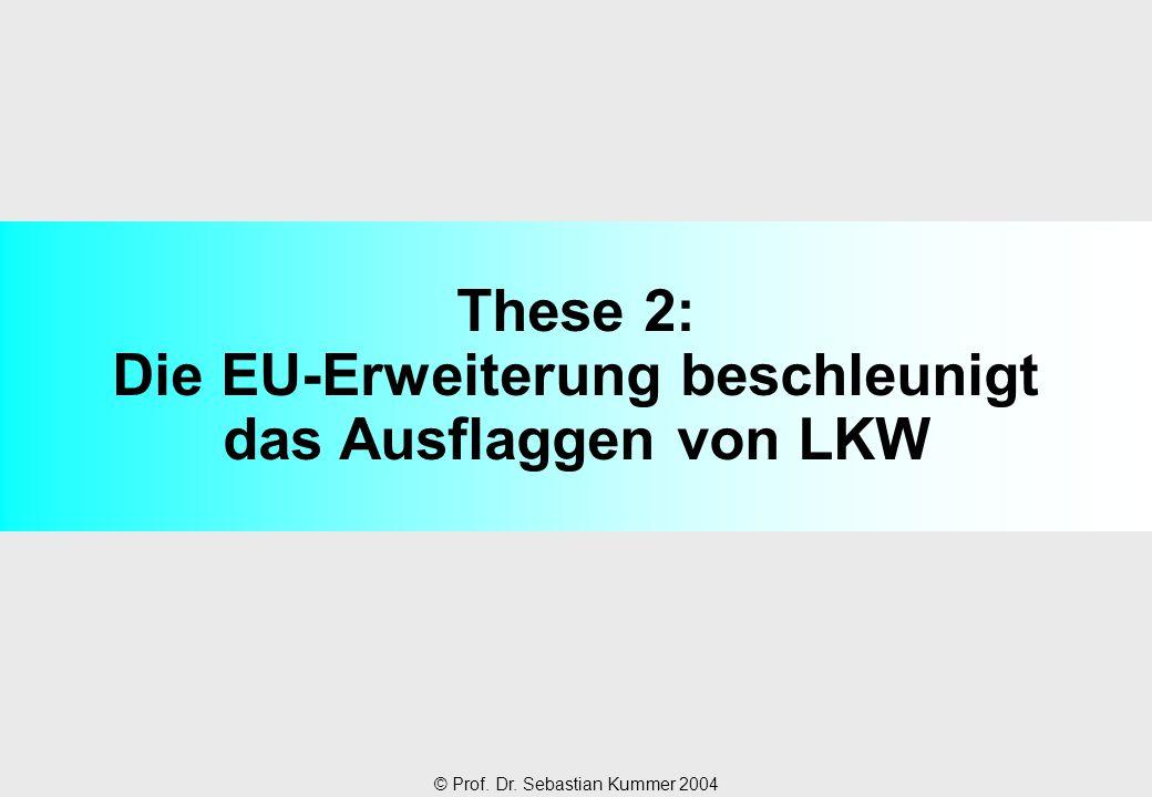 These 2: Die EU-Erweiterung beschleunigt das Ausflaggen von LKW