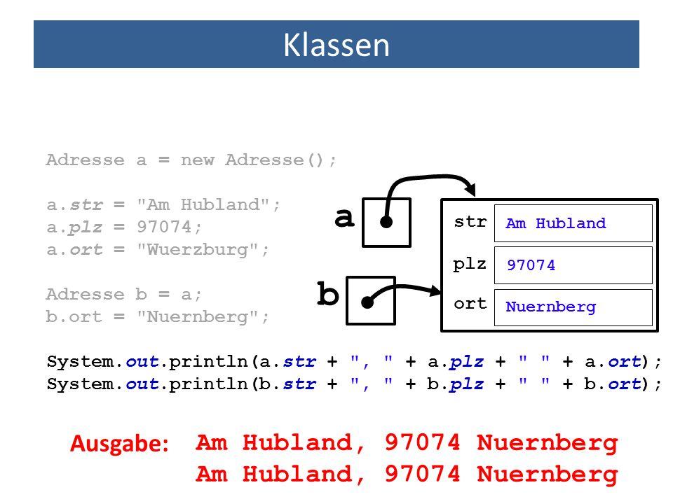 a b Klassen Ausgabe: Am Hubland, 97074 Nuernberg