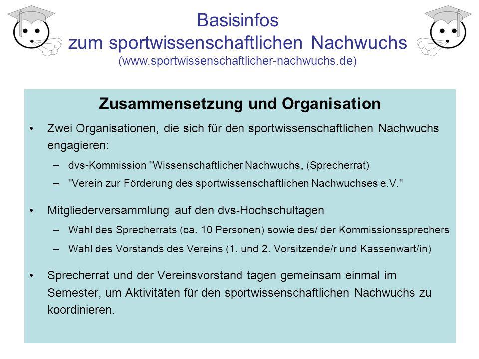 Zusammensetzung und Organisation