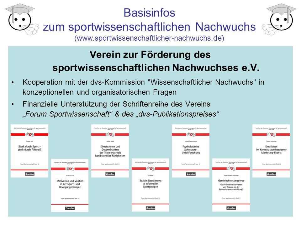 Verein zur Förderung des sportwissenschaftlichen Nachwuchses e.V.
