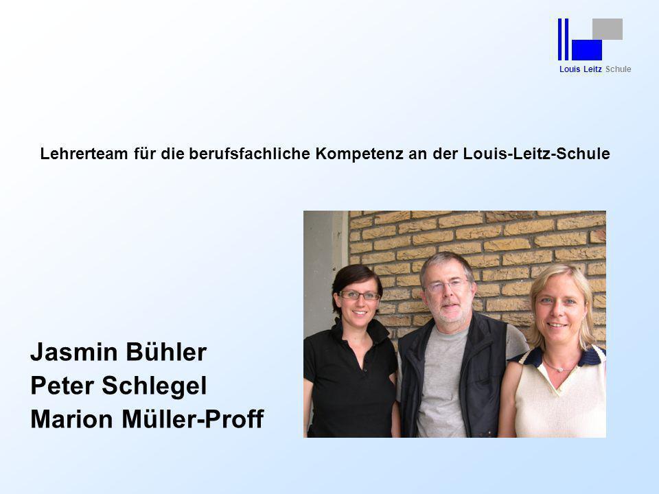 Lehrerteam für die berufsfachliche Kompetenz an der Louis-Leitz-Schule