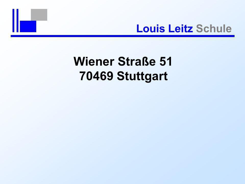 Wiener Straße 51 70469 Stuttgart
