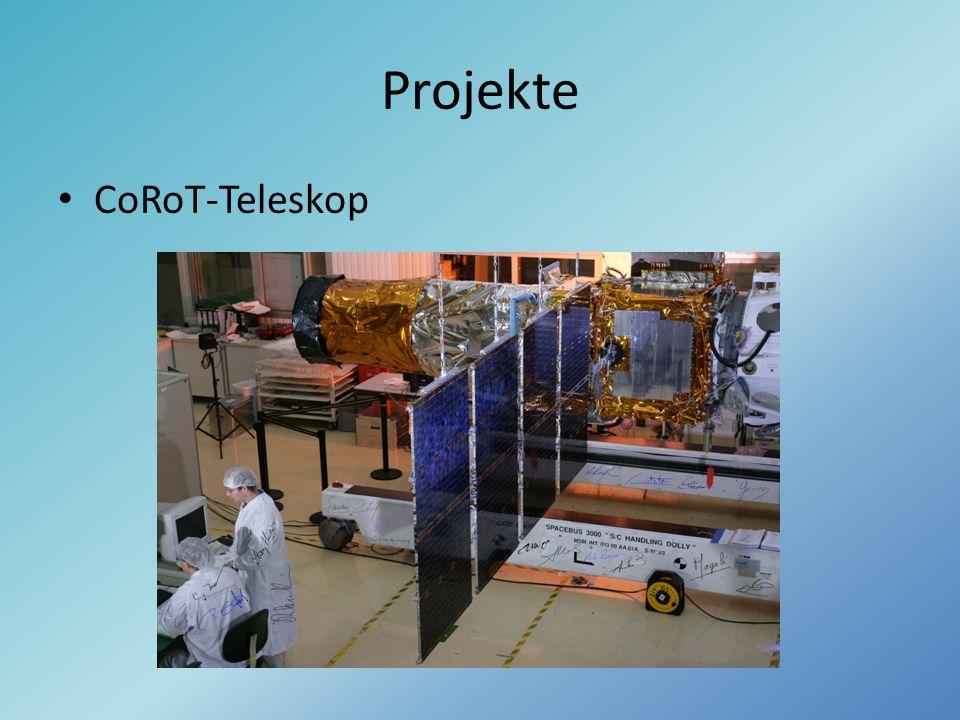 Projekte CoRoT-Teleskop