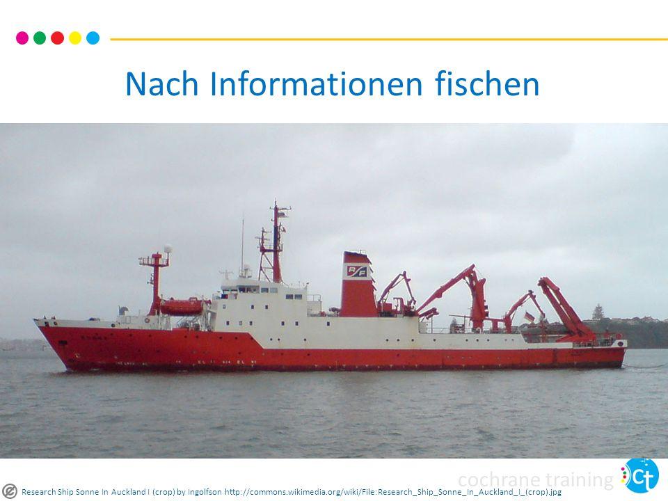 Nach Informationen fischen