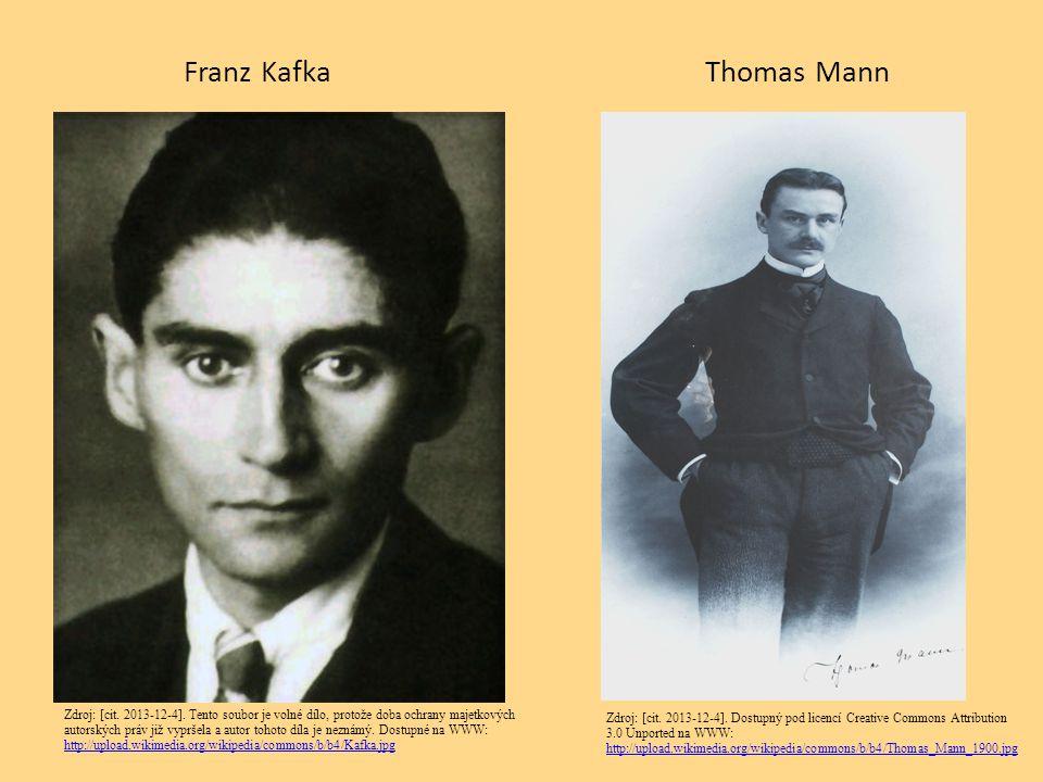 Franz Kafka Thomas Mann