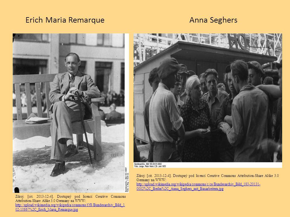 Erich Maria Remarque Anna Seghers