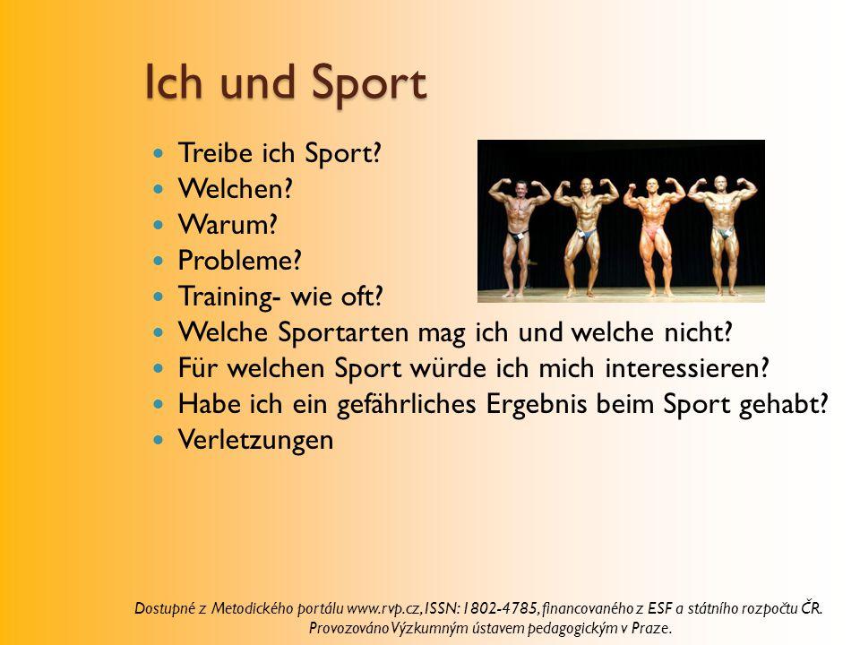 Ich und Sport Treibe ich Sport Welchen Warum Probleme