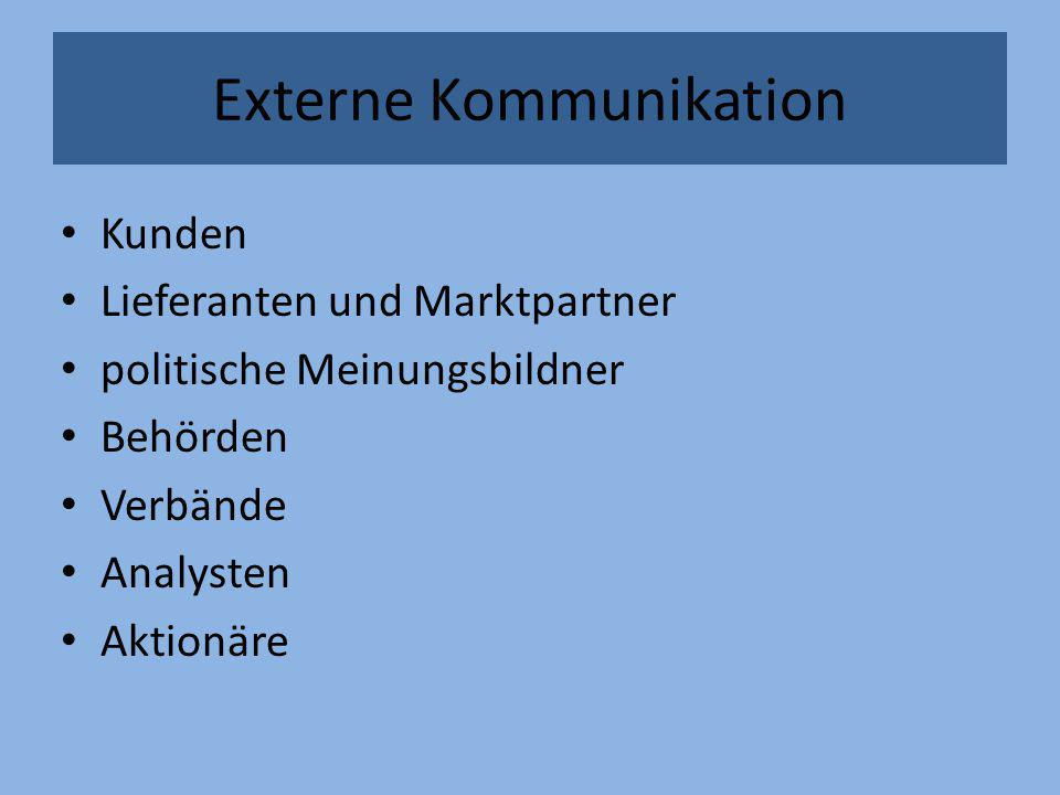 Externe Kommunikation