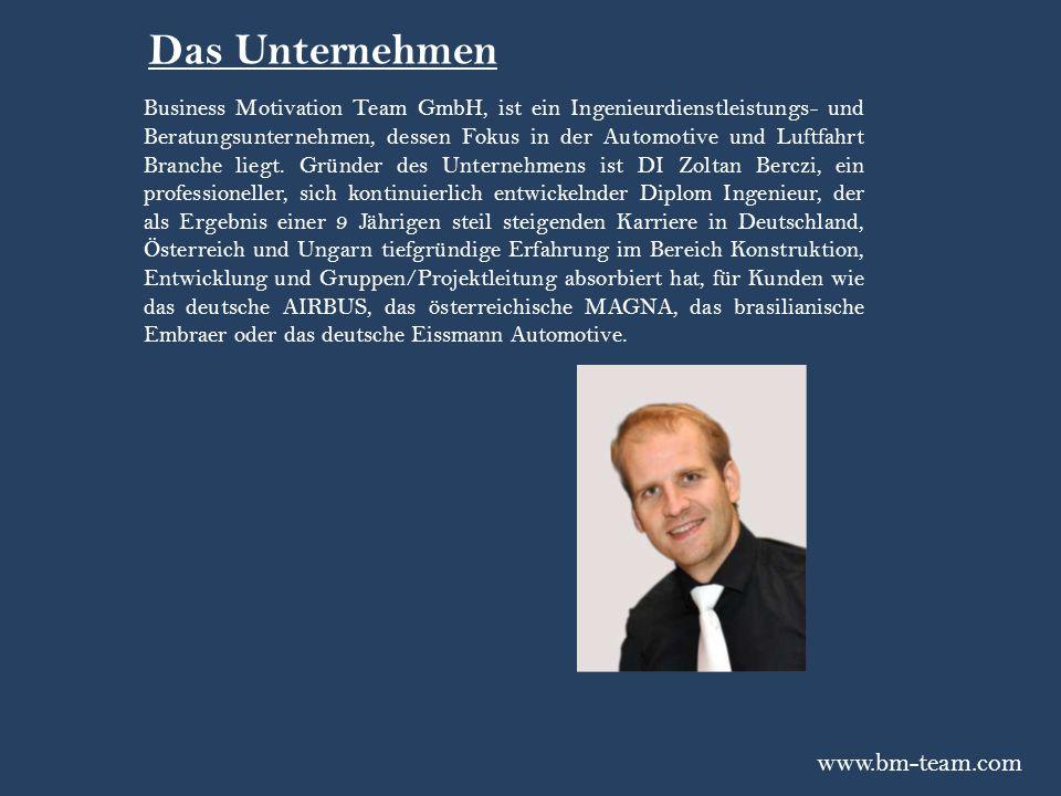 Das Unternehmen www.bm-team.com
