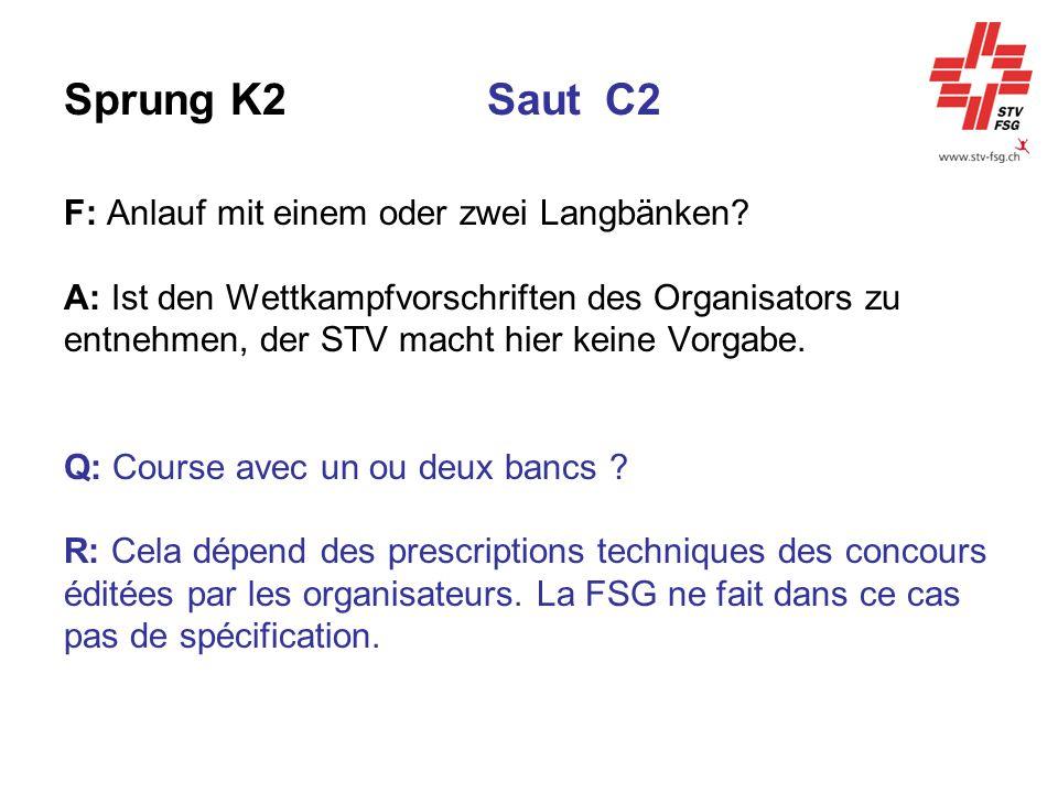 Sprung K2 Saut C2