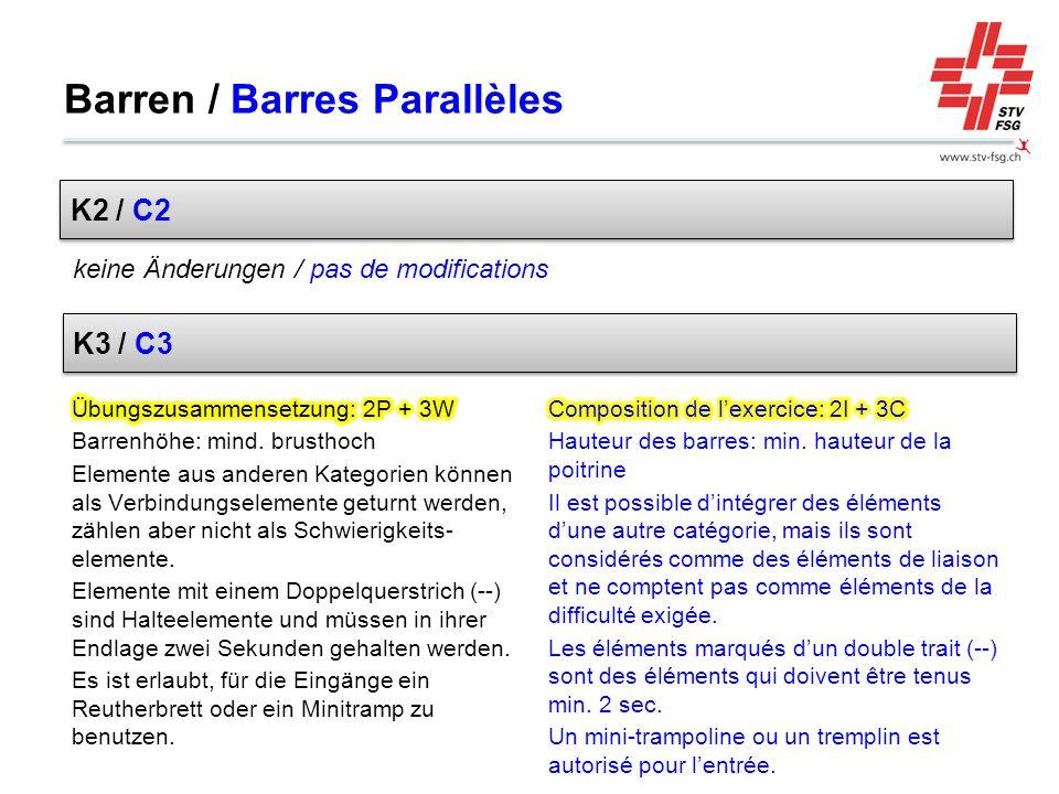 Barren / Barres Parallèles