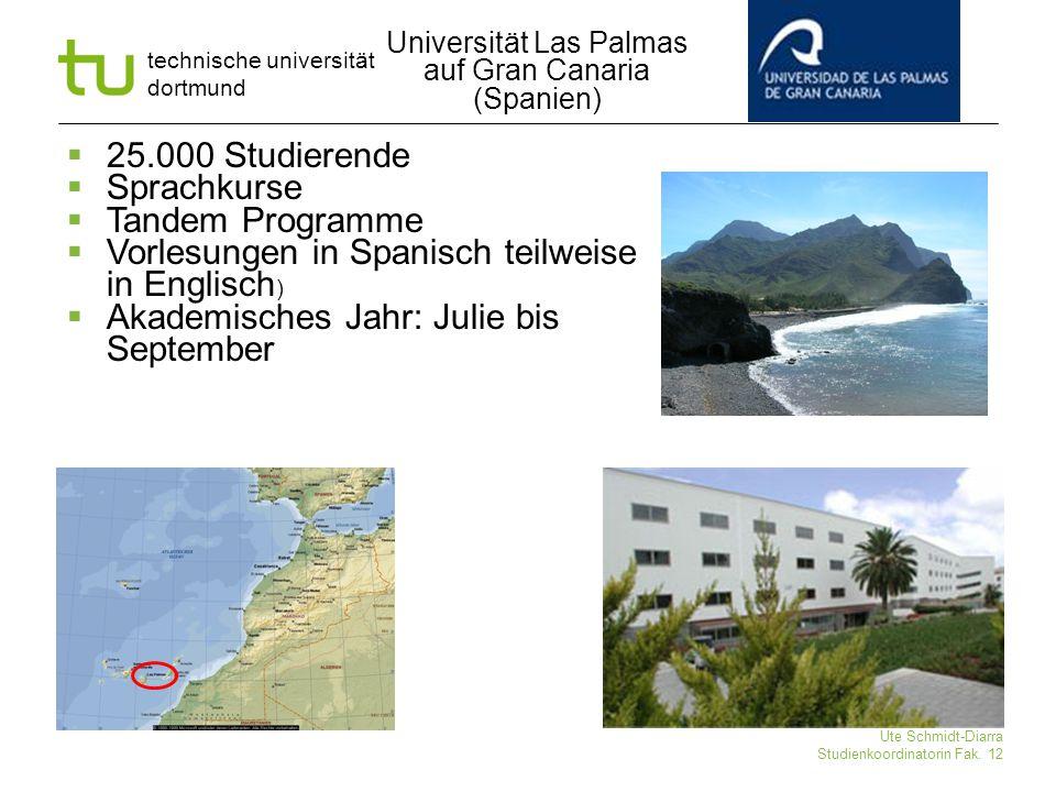 Universität Las Palmas auf Gran Canaria (Spanien)