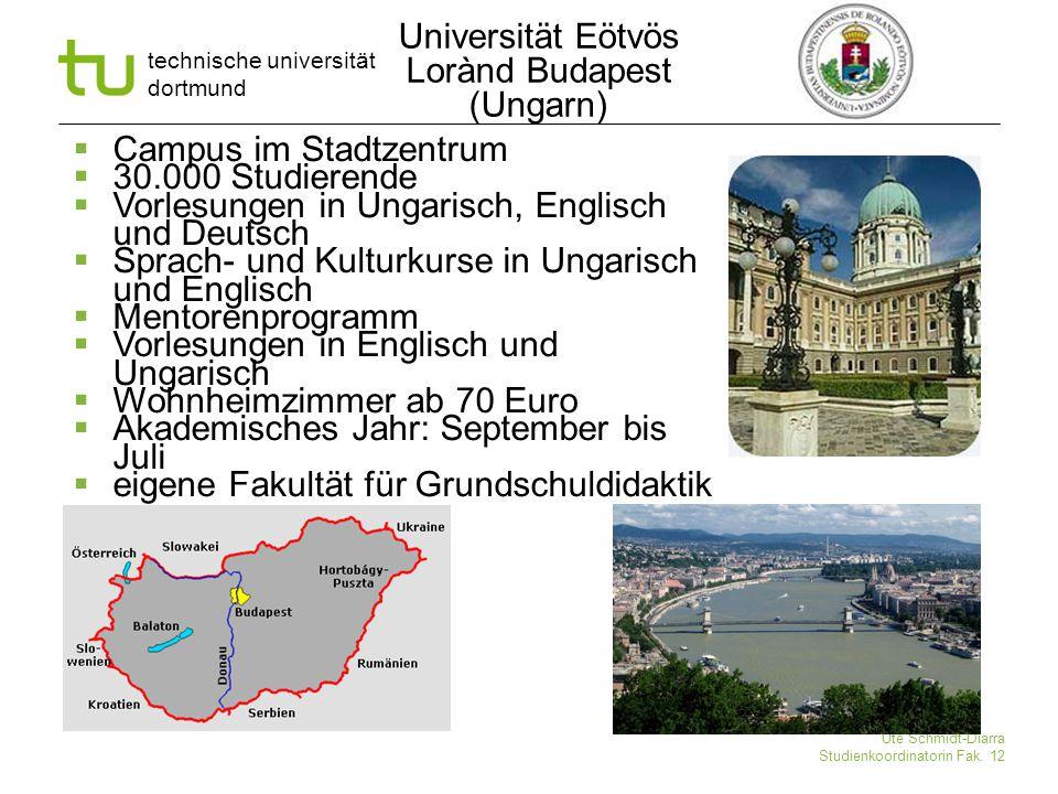 Universität Eötvös Lorànd Budapest (Ungarn)